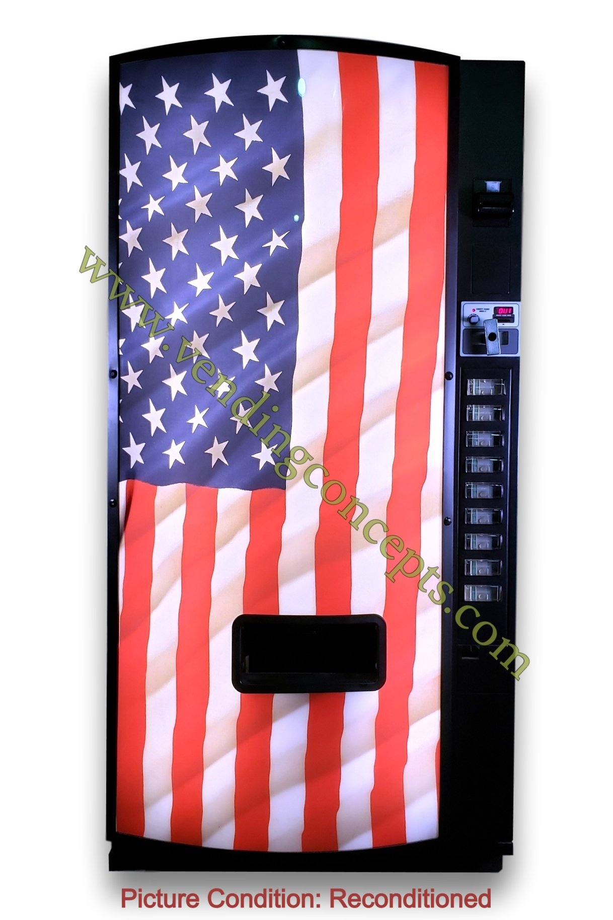 DN501E American Flag Front